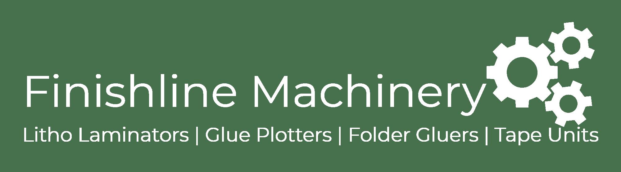 Finishline Machinery XY Glue Plotter Logo white
